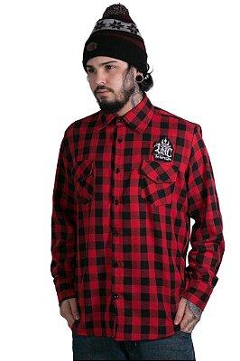 Camisa Xadrez Flanelada Red