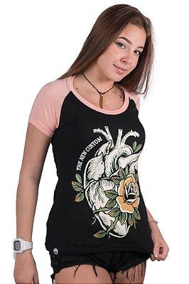 Camiseta Feminina Heart Garden