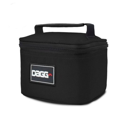 Mini Bolsa Térmica Fitness Preta - Dagg