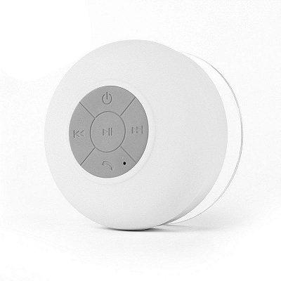 Caixa de Som Xtrad Bluetooth Resistente à água - Branca