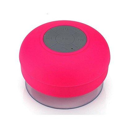 Caixa de Som Xtrad Bluetooth Resistente à água - Rosa