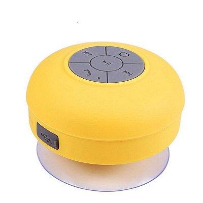 Caixa de Som Xtrad Bluetooth Resistente à água - Amarela