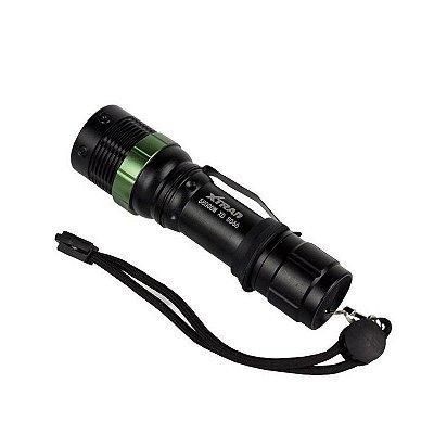 Lanterna Xtrad tática Led Swat Preta