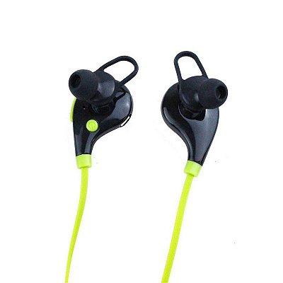 Fone de Ouvido Xtrad Bluetooth  Universal Sem Fio Verde