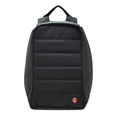 Mochila  Anti Furto para Notebook  YS28055  Impermeável Com USB - Preto
