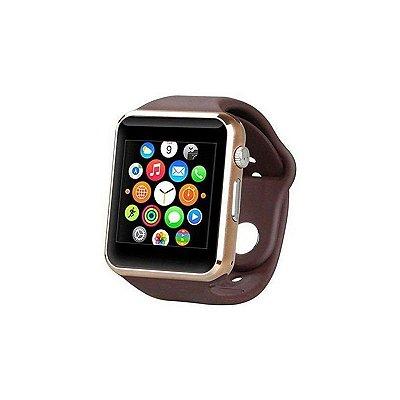 Relógio Dagg Smartwatch Armor Premium Touch Dourado