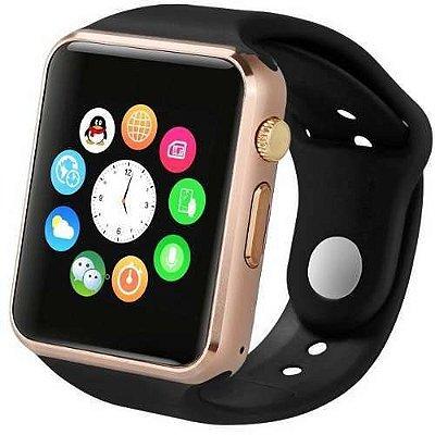 Relógio Dagg Smartwatch Armor Premium Touch Dourado/Preto