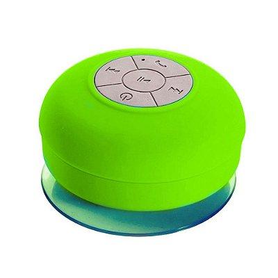 Caixa de Som Xtrad Bluetooth Resistente à água - Verde