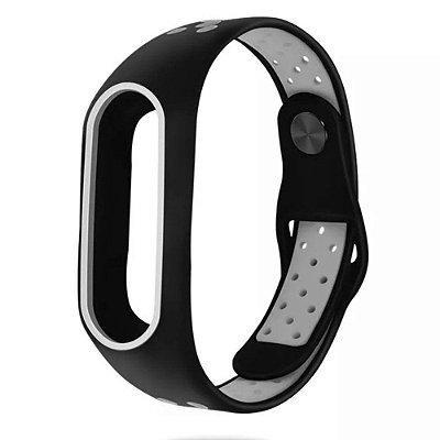 Pulseira Bracelete Pedômetro Running - Preto