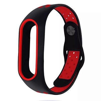 Pulseira Bracelete Pedômetro Running - Vermelho