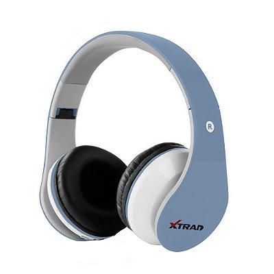 Headphone Xtrad Fone de ouvido Sem Fio - Azul