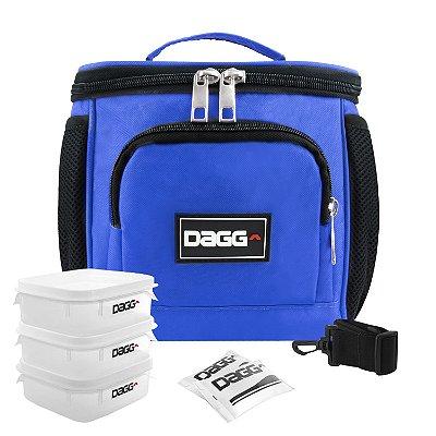 Bolsa Térmica Fitness Azul Royal M - Dagg