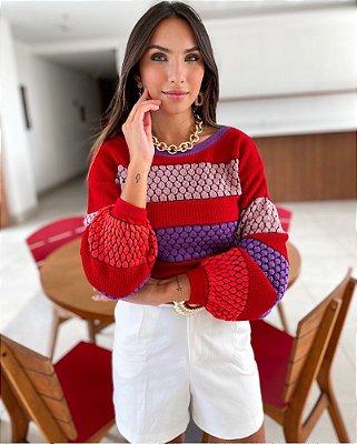 Suéter Tricot Lídia