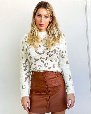 Suéter Tricot Cheetah