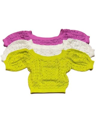 Cropped Tricot Belle