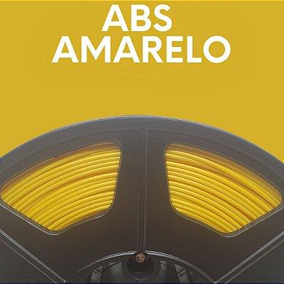 FILAMENTO ABS - AMARELO - PREMIUM - MG94 - 100% VIRGEM