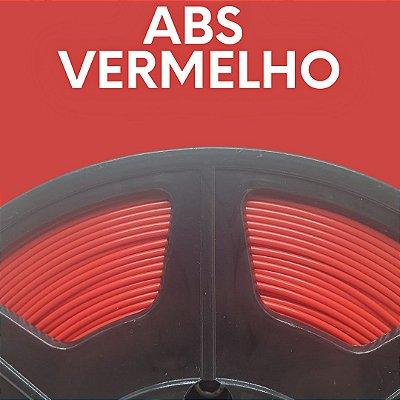 FILAMENTO ABS - VERMELHO - PREMIUM - MG94 - 100% VIRGEM