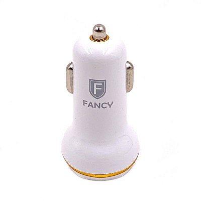 Carregador Veicular 2.4 A USB duplo - Fancy CC-t01