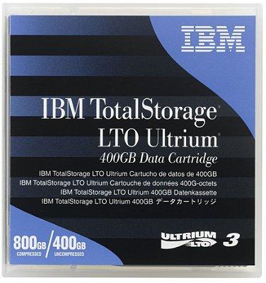 Fita Backup LTO-3 800/400 Gb IBM