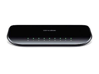 Switch 8 Portas Gigabit Tplink Tl-sg1008d 10/100/1000
