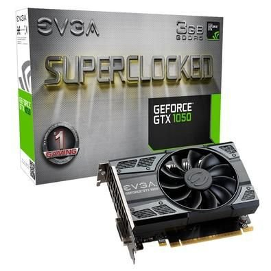 PLACA DE VíDEO GEFORCE GTX1050 3GB SUPERCLOCKED (EVGA)