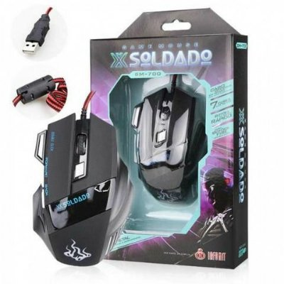MOUSE GAMER GM-700 (SOLDADO)