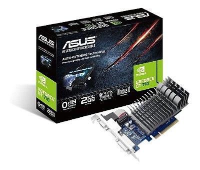 PLACA DE VÍDEO GT710 2GB  (ASUS)