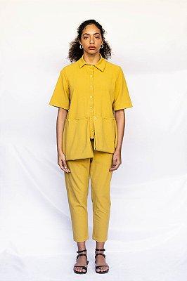 Camisa Louise | Amarelo