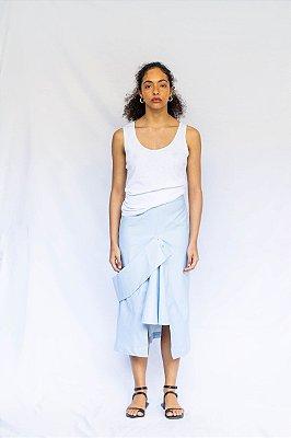 Saia Jeans Koko - Azul