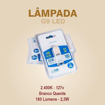 LÂMPADA G9 LED - 127V