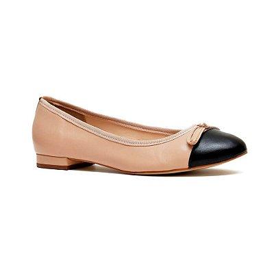 Sapato Feminino Sapatilha Cora Nude