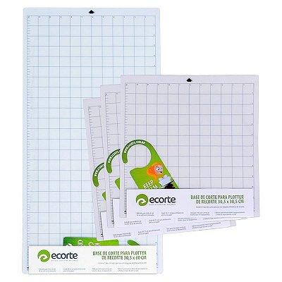 COMBO - Kit 3 bases de corte da marca Ecorte 30,5 x 30,5 cm e 1 base de corte 30,5 x 60 cm