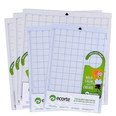 COMBO - Kit 3 bases de corte da marca Ecorte 30,5 x 30,5 cm,  2 bases A4 20,3x 30,5 cm