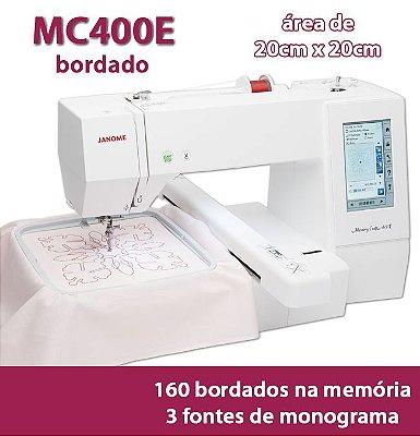 Máquina de Bordar Janome MC400E