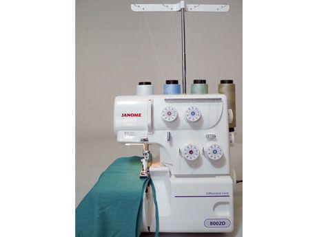 Janome 8002D Ultraloque 4 fios - Ponto Cadeia