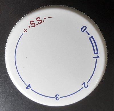Botão seletor do comprimento do ponto Janome 2008