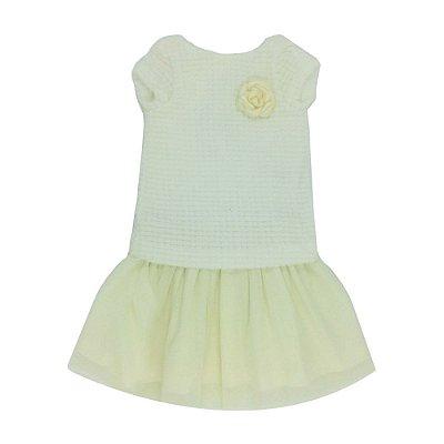 Vestido Letiti Penélope Off White