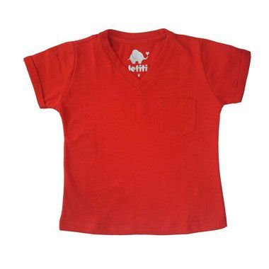Camiseta Letiti Julio Vermelha