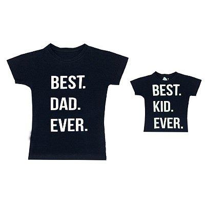 Kit camisetas Letiti Pai e Filho EVER