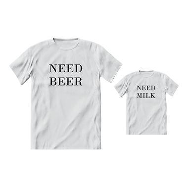 Kit camisetas Letiti Unissex NEED ( disponível na cor Branca )
