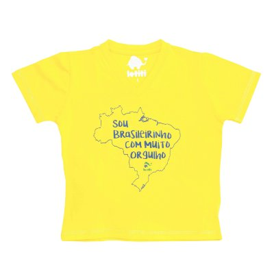 Camiseta Letiti Neymar Amarela