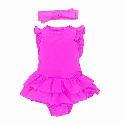 Vestido Amelie Pink Neon
