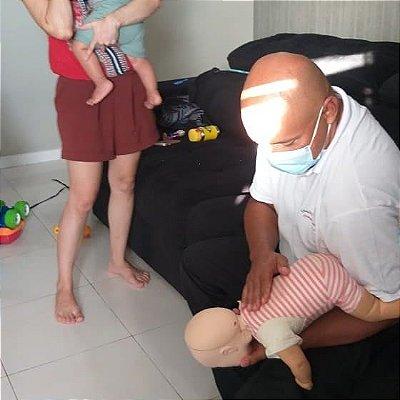 Curso de primeiros Socorros para Pais, babás e cuidadores de crianças