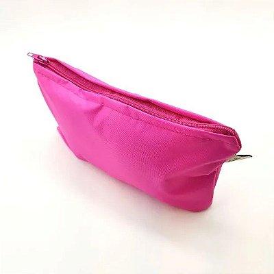 Bolsa impermeável para absorvente reutilizável - rosa pink