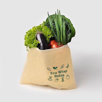 Ecowrap bolsa - tecido encerado vegano