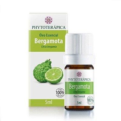 Óleo Essencial de Bergamota 5ml - Phytoterápica