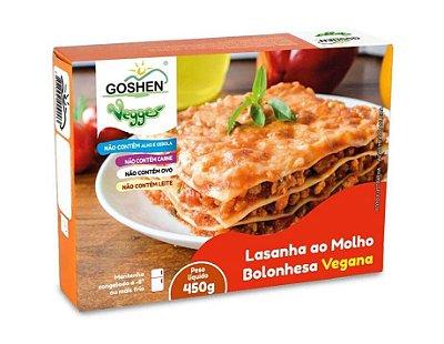 Lasanha Vegana ao Molho Bolonhesa de Soja 450g - Goshen