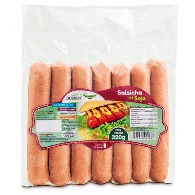 Salsicha de Soja Vegana 320g - Goshen