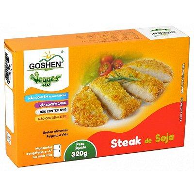 Steak de Soja Vegano 320g - Goshen