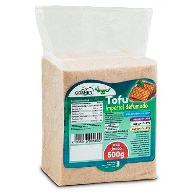 Tofu Imperial Defumado de Soja Vegano 500g - Goshen